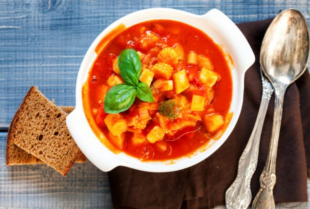 A dieta de minestrone funciona para perder peso? Esquema e menu de amostras